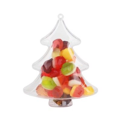 Picture of Tree Shaped Clear Plastic Ornament
