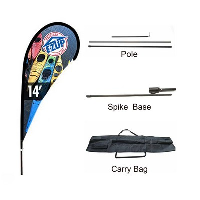 Picture of Large(109388cm) Teardrop Banners