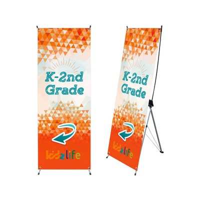 Picture of Medium X-Frame Banner (80 x 180cm)