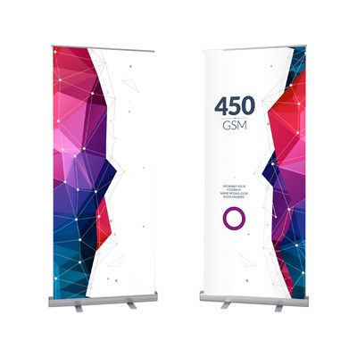 Picture of Medium Standard Pull Up Banner (120 x 20