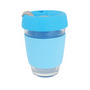 12 OZ Deluxe Reusable Glass Coffee Cup