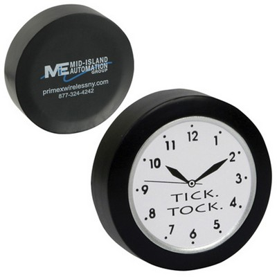 Picture of Quart Clock Shape Stress Reliever