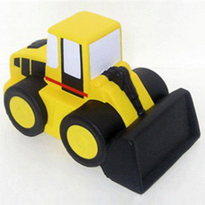 Picture of Cartoon Bulldozer Shape Stress Reliever