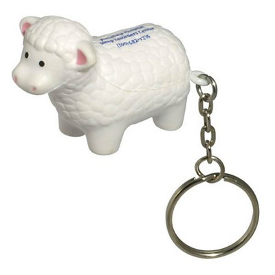 Picture of Sheep with Keyring Stress Item