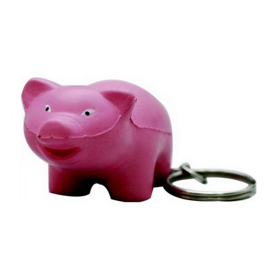 Picture of Mini Pig with Keyring Stress Item