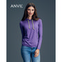 Anvil Womens Lightweight Long Sleeve Hoo
