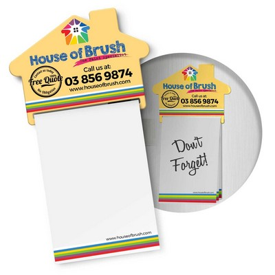 Picture of Magnetic House Memo Pad