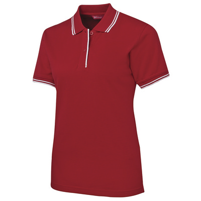 Picture of JBs Ladies Contrast Polo
