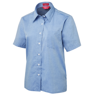 Picture of JBs Ladies Original S/S Fine Chambray Sh