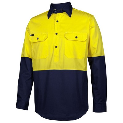 Picture of JBs Hv Close Front L/S 150G Work Shirt