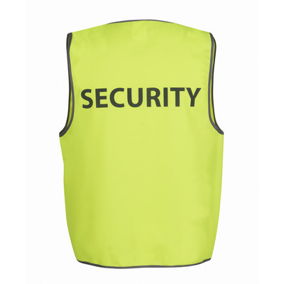 Picture of JBs Hv Safety Vest Print Security