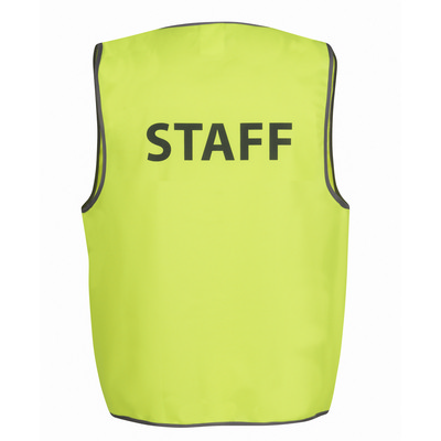 Picture of JBs Hv Safety Vest Print Staff