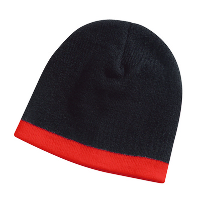 Picture of Skull Beanie Black/Red