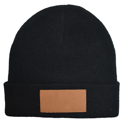 Picture of Badge Beanie Black