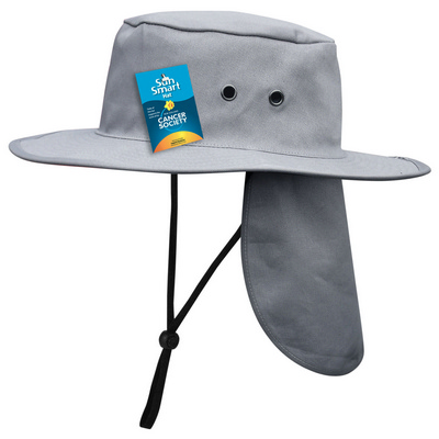 Picture of SunMaster Hat Charcoal Grey
