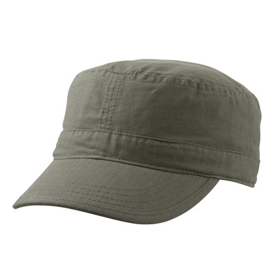 Picture of Ripstop Military Cap Black