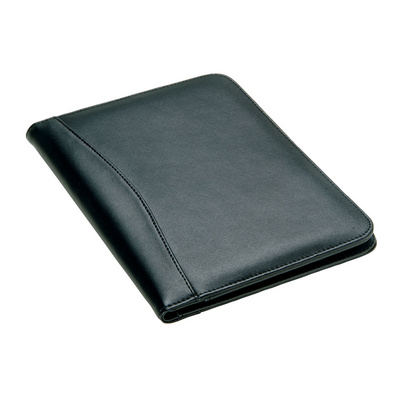 Picture of Leather A5 Folder Black