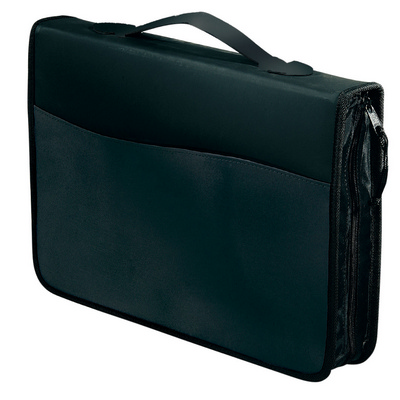 Picture of Briefcase Compendium Sliver/Black