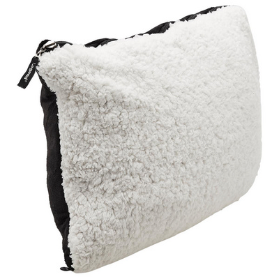 Picture of Sherpa, in, Pillow Blanket Black/White