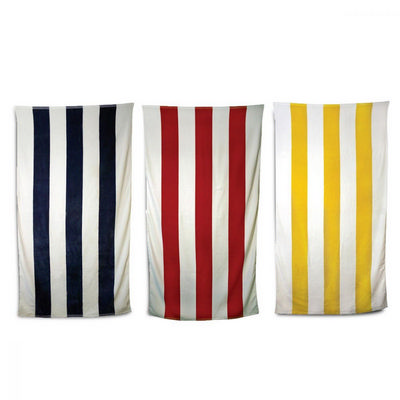 Picture of Striped Towel Red/White