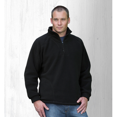Picture of Detailed Polar Fleece Pullover