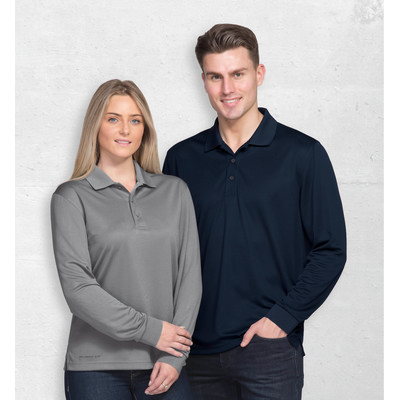 Picture of Dri Gear Long Sleeve Axis Polo