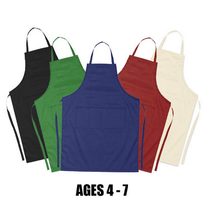 Picture of Junior Cotton Apron (age 4-7)