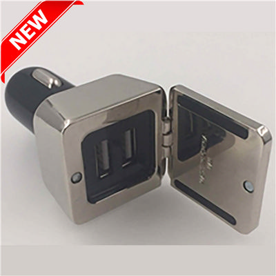 Picture of Dual Square Metal Car Charger