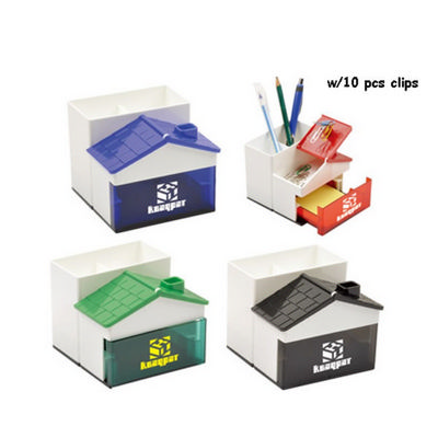 Picture of Pen Holder with Memo Holder with Clips