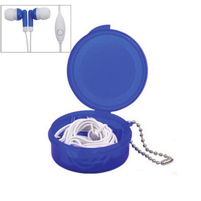 Picture of Earbuds in Case with Keyring with Mic