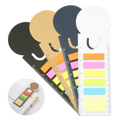 Picture of Bookmark Ruler Sticky Note Pad