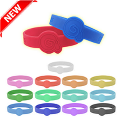 Picture of Neon Glow Silicone Wrist Band Custom Des