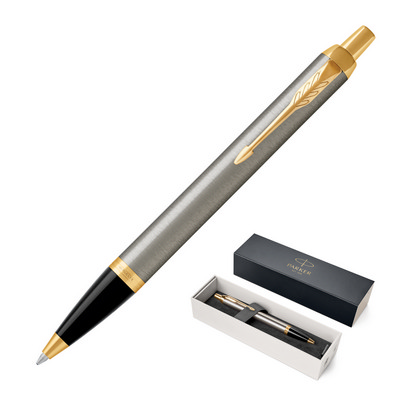 Picture of Metal Pen Ballpoint Parker IM - Brushed