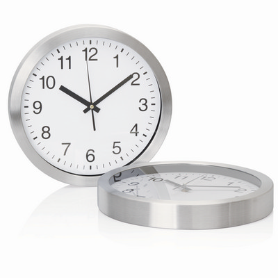 Picture of Wall Clock 30cm Aluminium