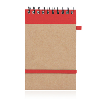 Picture of Eco Notepad Recycled Paper Spiral Bound