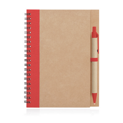 Picture of Eco Notebook Recycled Paper Spiral Bound