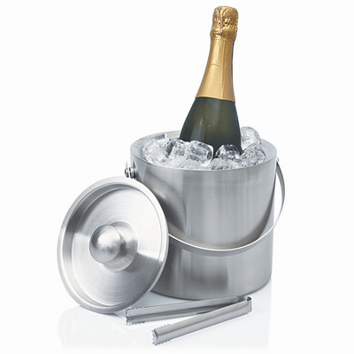 Picture of Ice Bucket Stainless Double Wall Contemp