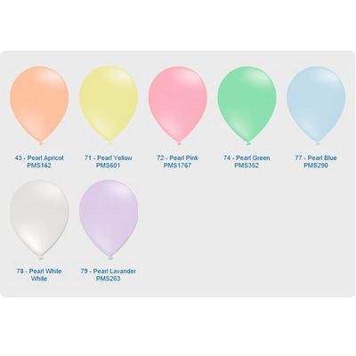"""Picture of Pearl Balloon - 11"""" (28cm)"""