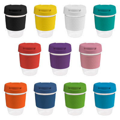 Picture of 12oz340ml Clear Plastic Karma Kup with P