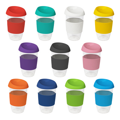 Picture of 16oz535ml Clear Plastic Karma Kup with S