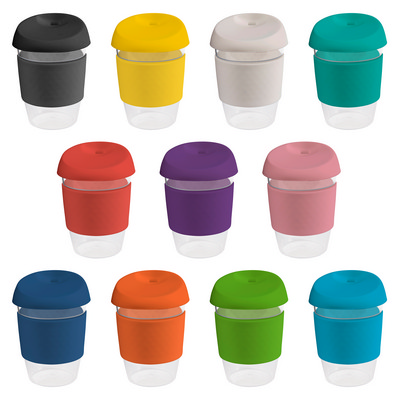 Picture of 12oz340ml Clear Plastic Karma Kup with S
