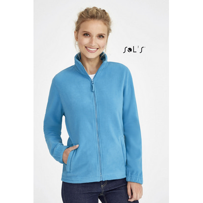 Picture of NORTH WOMENS ZIPPED FLEECE JACKET