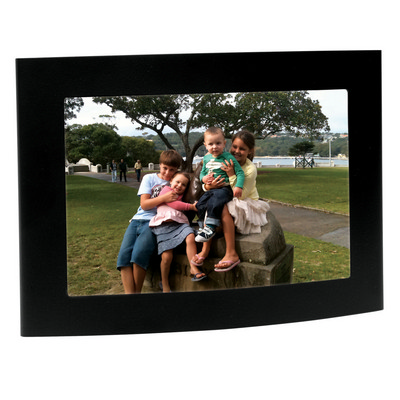 Picture of Arc matt black photo frame
