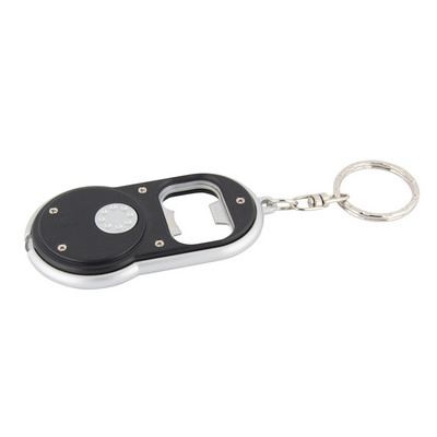 Picture of Bottle opener torch keyring