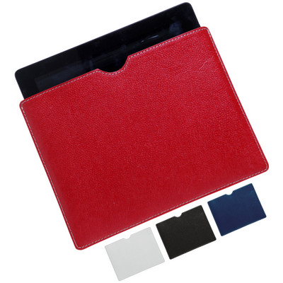 Picture of Cotton leather iPad slip case