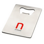 Stainless steel credit card bottle openerCredit card size bottle opener