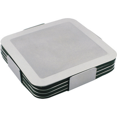 Picture of Prestige stainless steel coaster set