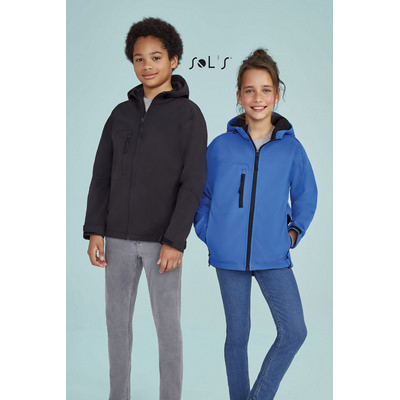 Picture of REPLAY KIDS HOODED SOFTSHELL