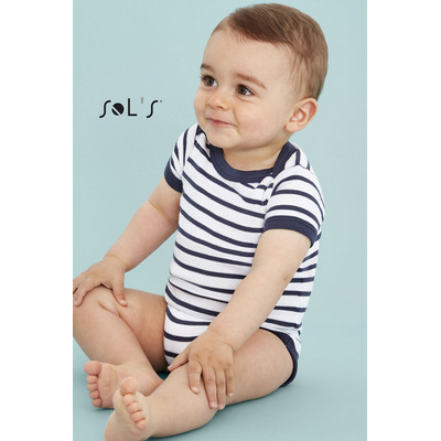 Picture of MILES BABY STRIPED BODYSUIT