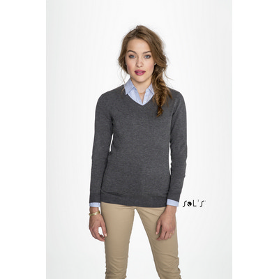 Picture of GLORY WOMENS V-NECK SWEATER